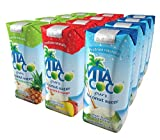 Vita Coco Variety Pack Coconut Water, 12-Count