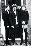 O-55105 the Beatles Group Poster - Rare New - Image Print Photo