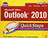 img - for Microsoft Office Outlook 2010 QuickSteps by Carole Matthews (1-Jun-2010) Paperback book / textbook / text book