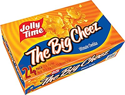 Jolly Time The Big Cheez Cheddar Cheese Microwave Popcorn