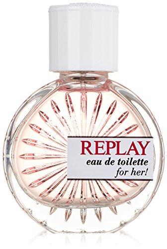 Replay Woman, Eau de Toilette da donna, con vaporizzatore spray, 40 ml