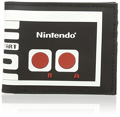 Nintendo Portamonete, Nero (nero), taglia unica