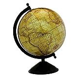 """Desktop-Rotating Globe World Erde Gelb Ozean Geographie mere 12.5"""""""