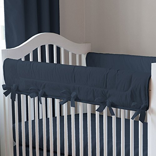 Navy And White Crib Bedding 4761 front