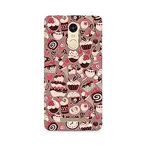 TAZindia Printed Hard Back Case Cover For Xiaomi Redmi Note 3