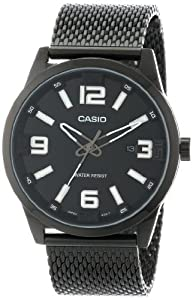 Casio Men's MTP-1351BD-1A1DF Core Collection Big Face Analog Watch