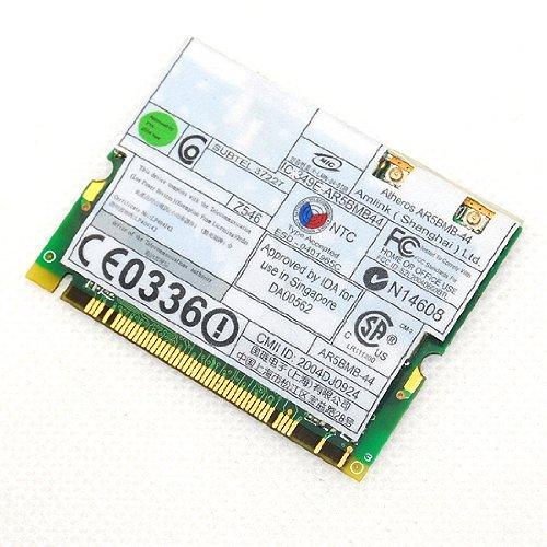 New IBM Atheros 5213A 802.11 a/b/g Mini PCI Wireless Card AR5BMB-44 2.4GHz 108Mbps