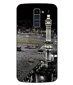 Make My Print Religion Printed Multicolor Hard Back Cover For LG K10