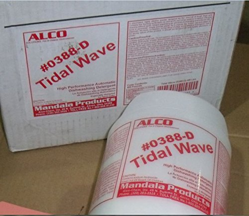 Alco Tidal Wave 0388-D (4-8 Lb Jars/Case)Heavy Duty Dish Machine Detergent