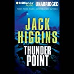 Thunder Point (       UNABRIDGED) by Jack Higgins Narrated by Michael Page