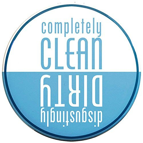... The Buttonsmith Clean-Dirty Dishwasher Magnet (Light Blue) dealsaving