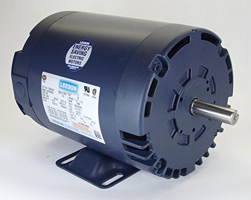 1.5 Hp 1725 Rpm 56 Frame 208-230/460 Volts Open Drip Leeson Electric Motor # 110430