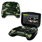 MightySkins Protective Vinyl Skin Decal for NVIDIA Shield Portable Cover wrap Skins Sticker Green Camo (Color: Green Camo, Tamaño: NVIDIA Shield Portable)