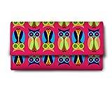 ShopMantra owl pattern Multicolor Ladies Wallet LW00000237
