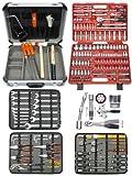 Famex 716-14 Werkzeugkoffer Komplettset High-End Qualität , mit 173-teiligem Steckschlüsselsatz