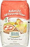 "Molino Grassi Italian ""00"" All Purpose Soft Wheat Flour, 2.2 lbs"