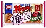 亀田製菓 亀田の柿の種梅しそ6袋詰 210g×12袋