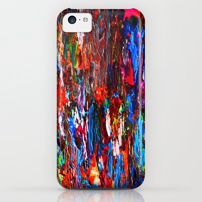 Society6 - Color Mix / Palette Knife Abstract Iphone & Ipod Case By Maggs326