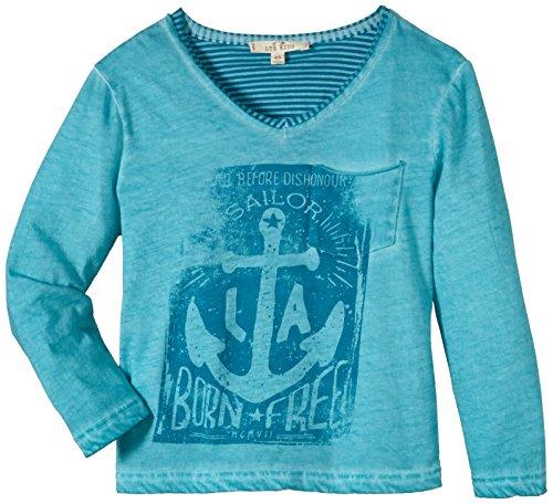 LTB Jeans Jungen T-Shirt AWEBOS S/T, Gr. 176 (Herstellergröße: 15-16 Jahre), Mehrfarbig (WATERFALL GREEN 6687)