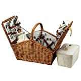 Picnic at Ascot Huntsman Basket for 4, Santa Cruz