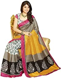 Glory Sarees Women's Bhagalpuri Art Silk Saree