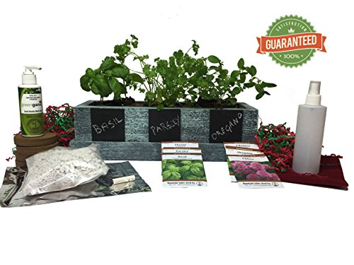 Limited Edition Complete Herb Garden Kit - Best Christmas Gardening Gifts (Herb Garden Window compare prices)