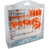 Nuop Design Strawz Connectable Drinking Straws Orange