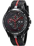 Alienwork Herren-Armbanduhr Silikon