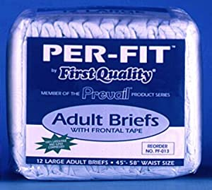 Per-Fit Adult Briefs by Prevail