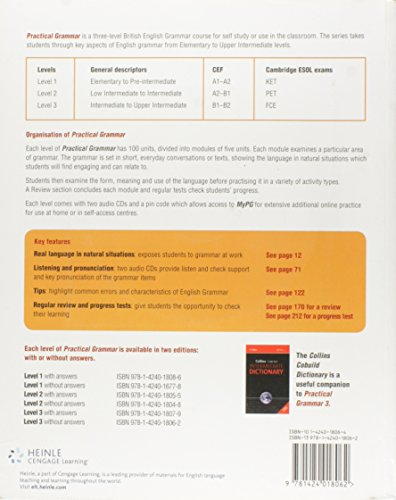 Practical grammar. Without answers. Con espansione online. Con CD Audio. Per le scuole superiori: Practical Grammar. Level 3 (+  CD Audio)