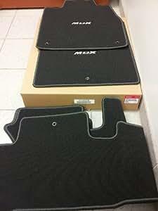 acura factory oem floor mat set 2010 2012 mdx premium black automotive. Black Bedroom Furniture Sets. Home Design Ideas