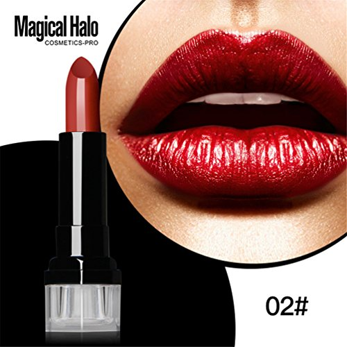 U-beauty® Long Lasting Matte Lipstick Waterproof 1PC Lip Cream Shimmer Lip Stick Lip Glosses 02#