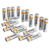 AmazonBasics AA Alkaline Batteries (Pack of 20)