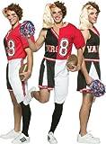 Cheerleader/Football Player Male Adult Halloween Costume