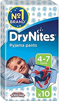 Huggies DryNites Pyjama Pants for Boys Pants