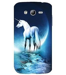 printtech Fantasy Unicorn Back Case Cover for Samsung Galaxy Grand i9080 / Samsung Galaxy Grand i9082