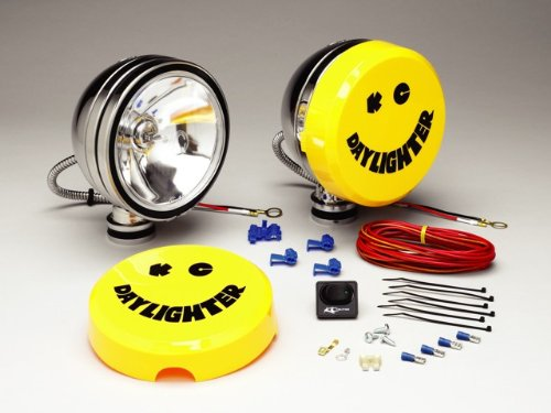 Kc Hilites 236 Daylighter Stainless Steel 100W Spot Beam Light System - Diy Wiring Harness