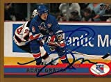 Adam Graves New York Rangers Autographed 1999-2000 Topps Card # 148 SL COA 19536