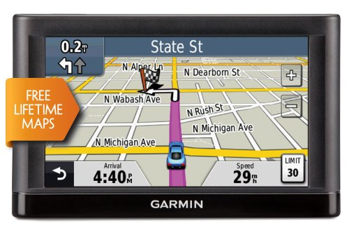 Save on the Garmin n??vi 52LM 5-Inch Portable Vehicle GPS with Lifetime Maps