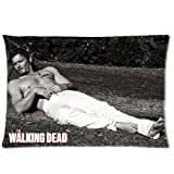 The Walking Dead Daryl Dixon Custom Zippered Throw Pillow Case Cushion Cover 16x16 (two sides print)