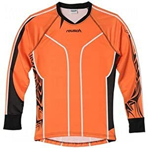 Reusch Adult Pro-Fit Tribal Goalkeeper Jersey, Orange/Black, Small