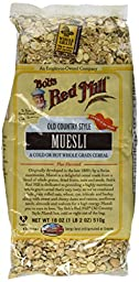 Bob\'s Red Mill Old Country Style Muesli Cereal, 18-ounce (Package May Vary)