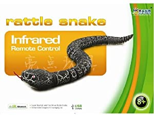 Rattle Snake Infrared Remote Control (Color May Vary)