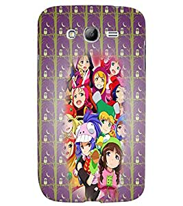 Fuson 3D Printed Girly Designer back case cover for Samsung Galaxy Grand Neo Plus - D4602