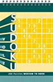 Sudoku Puzzle Pad: Medium to Hard