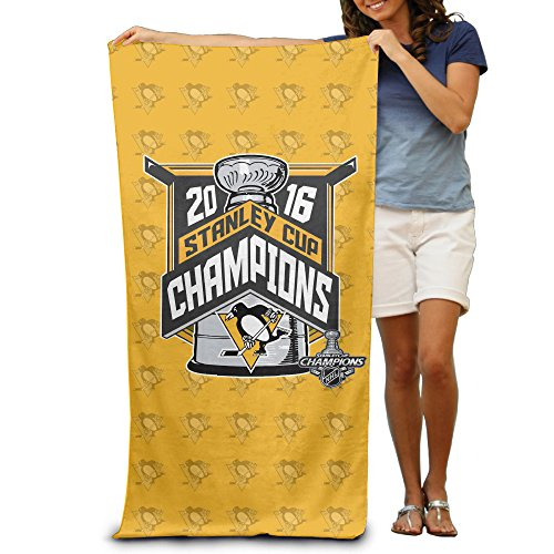 "2016 Stanley Cup Champions Pittsburgh Penguins 31.5""51"" Microfiber Beach Towel"