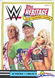 2018 Topps WWE Heritage Wrestling EXCLUSIVE Factory Sealed Retail Box with RELIC Card! Look for Cards & Autographs of WWE Superstars Sting, AJ Styles, Triple H, Jon Cena The Undertaker & More! WOWZZER