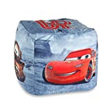 Disney Cars Friends to the Finish Printed Pouf Ottoman