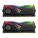GeIL SUPER LUCE RGB SYNC 8GB (2 x 4GB) 288-Pin DDR4 SDRAM DDR4 2400 (PC4 19200) Desktop Memory Model GLS48GB2400C16DC