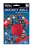 Mylec Hot Weather No Bounce Hockey Balls, Red (Pack of 6)